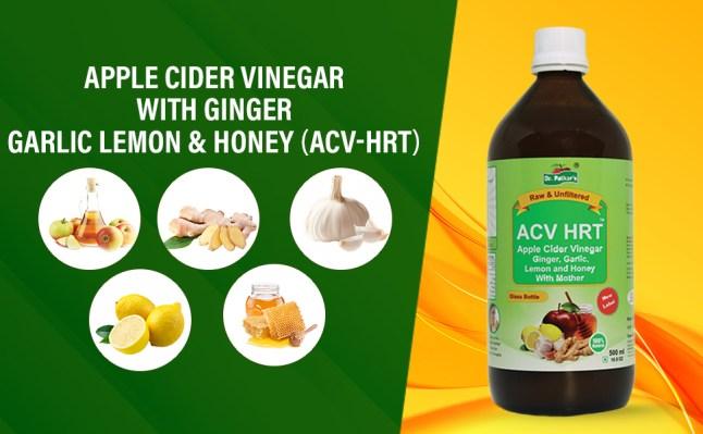 Ingredients for Dr. Patkar's Apple Cider Vinegar HRT