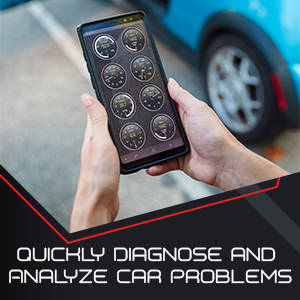 BAFX Products bluetooth OBDII (OBD2) Reader / Scanner for Android or Windows - diagnostic screenshot