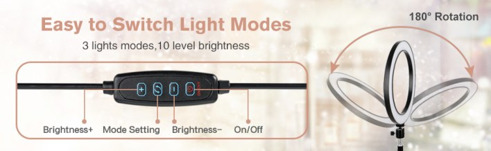 EASY TO SWITCH LIGHT MODES