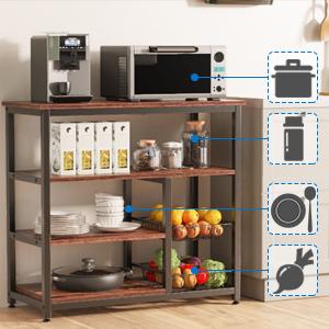 Microwave Storage Stand