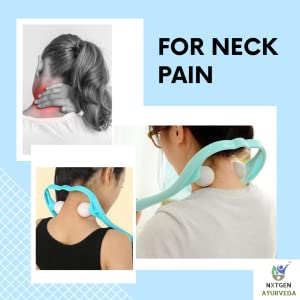 neck massager manual pain relief massage easy to use