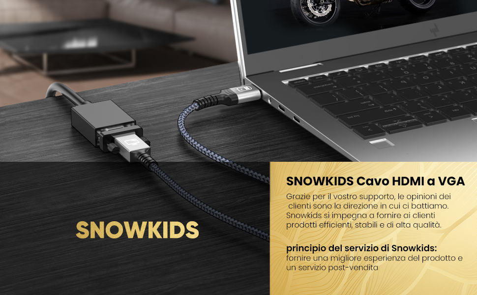 Principio di servizio del marchio Snowkids