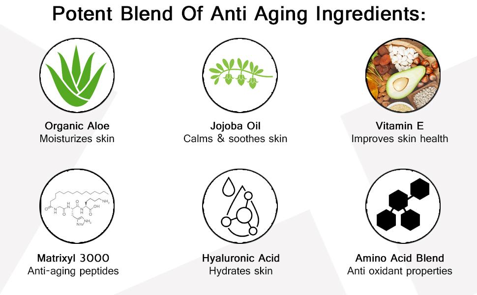 This eye cream serum contains anti-aging ingredients