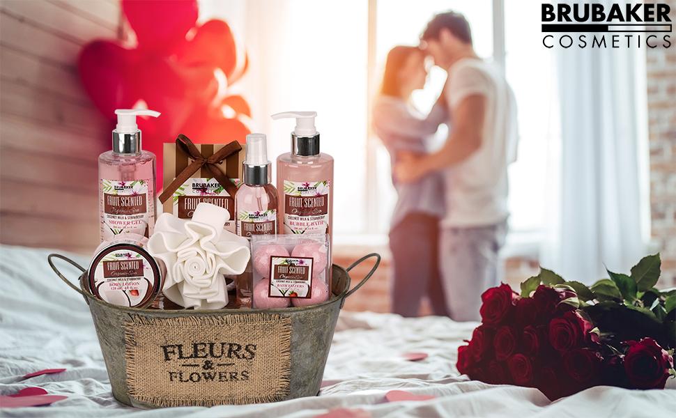 Geschenkidee, Valentinstag, Jahrestag, Geburtstag, Kollegin, Muttertag, Mama, Mutter, Duschbad