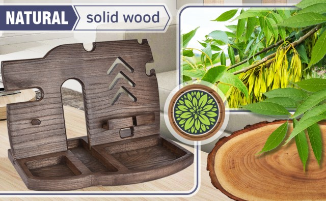 Things made of wood are special
