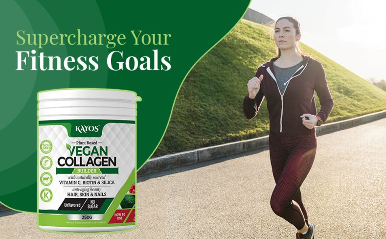 health and fitness with collagen
