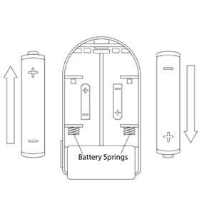 Battery alignment