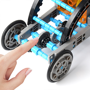 12-in-1 Science Solar Robot Kit for Kids,STEM Educational DIY Solar Powered Building Toys