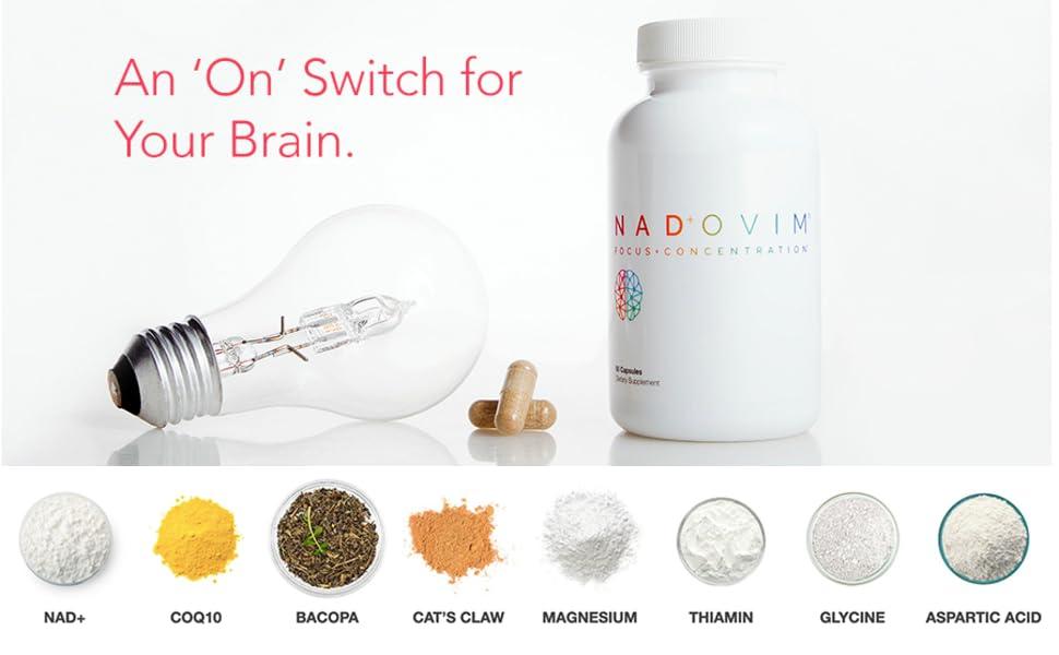 nadovim nad nmn supplement nicotinamide ribsoside adenine dinucleotide mononucleotide anti aging