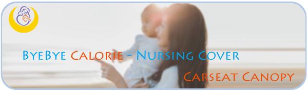 Nursing cover apron brand logo
