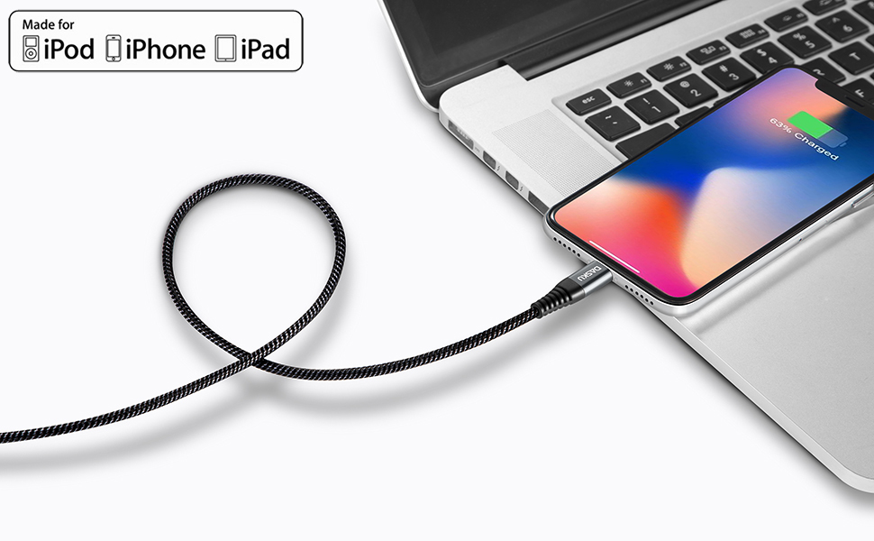 mfi certified iphone cable