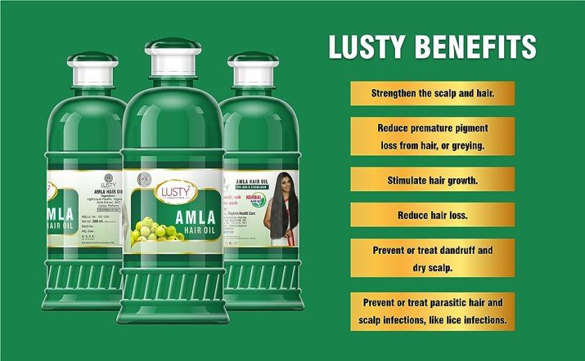 Alma Hair oil Benefits