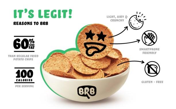 BRB Popped Chips | Not Baked, Not Fried | Potato & Sweet Potato ...