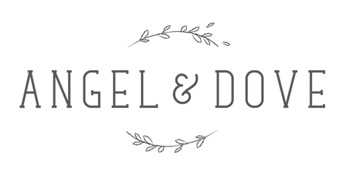angel & dove funeral stationery & gifts