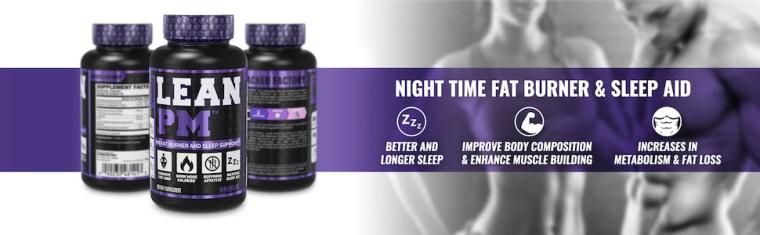 Lean PM - Night Time Fat Burner & Sleep Aid