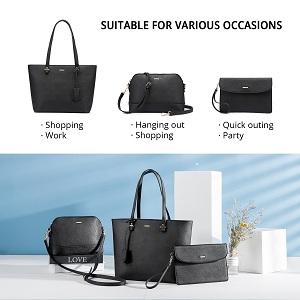 black handbags set