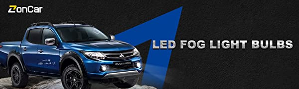 h10 led fog light bulbs