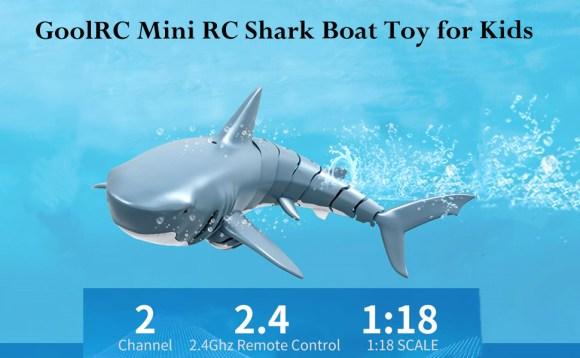 Mini RC Shark for Kids