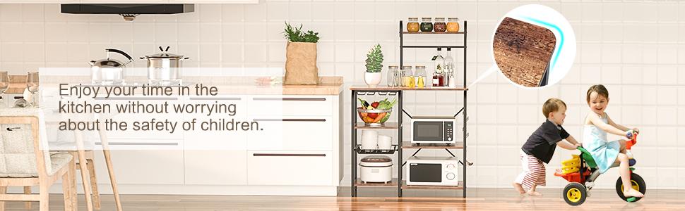 kitchen bakers rack