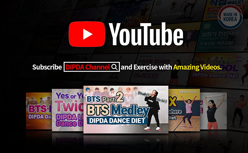 youtube channel dipda bts