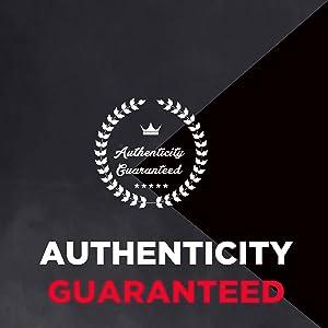 Authenticity Guaranteed