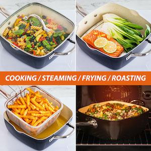 Pot Set Non Sticking Pan Set Kitchen Set
