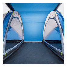 living area large communal area space tent 4 person tunnel camping camp essential trail collection