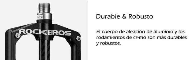 pedales durables y robustos de bici