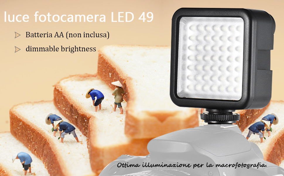 Andoer Luce LED 49