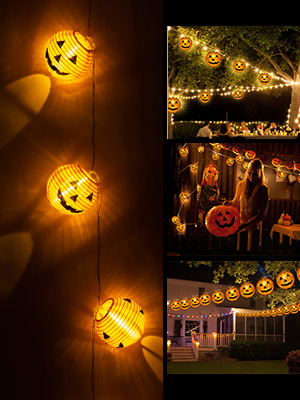 halloween lantern lights