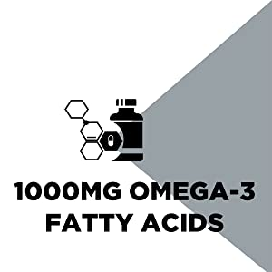 1000mg Omega-3 fatty acids
