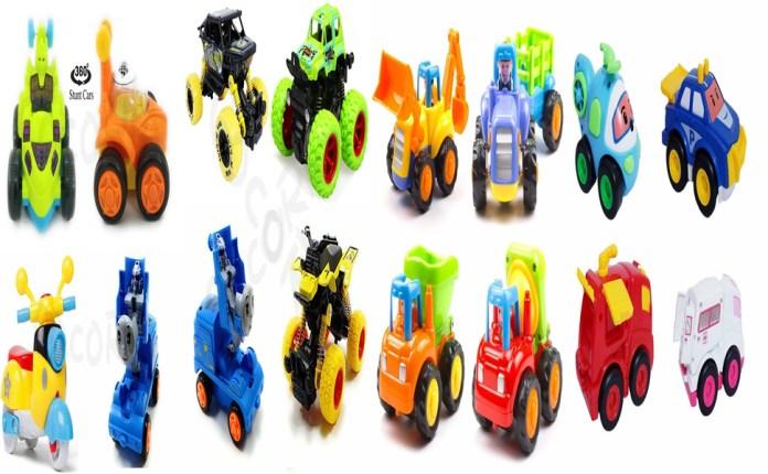 friction car kids toys boys fly inertia four axis power jvm unbreakable pull back power khilone kar