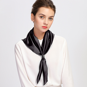 square neck scarf