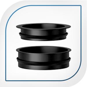 Dual airtight seals on cold brew maker