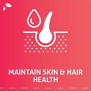 Maintain skin & hair health