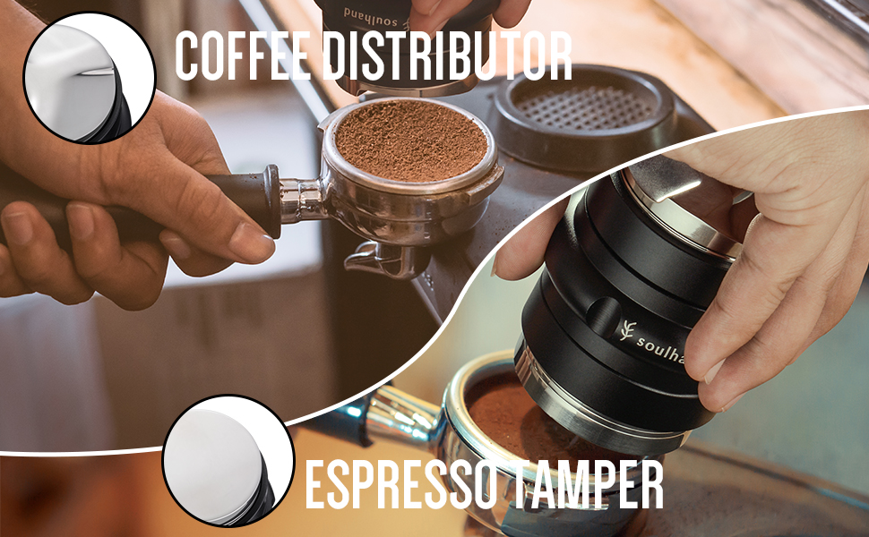 Dual Head Coffee Leveler