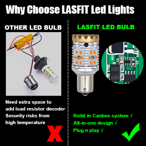Load MINI fuses to protect the bulbs and your cars against the instantaneous high current.