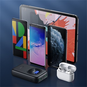 EAFU 12000mAh fast charge portable charger