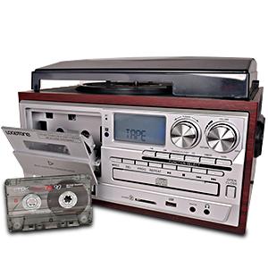 Cassette desk
