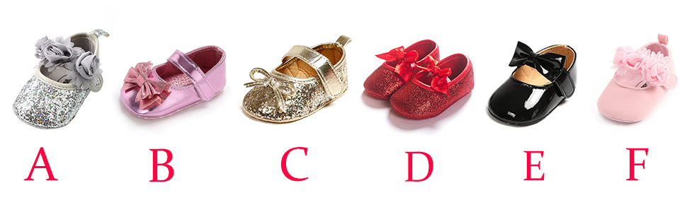 Baby Girl Moccasins Princess Sparkly Mary Jane Dresses Shoes  Crib Shoes Toddler Shoes