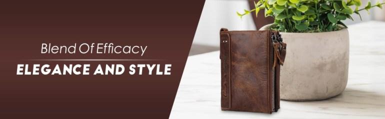 Genuine Leather Wallet Recreate Engineering