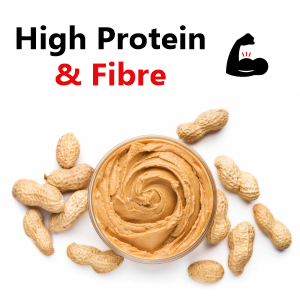 high protein peanut butter