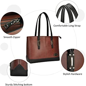 Details of laptop bag