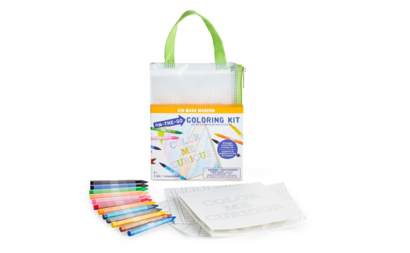 on the go coloring drawing book arts and crafts kit for kids