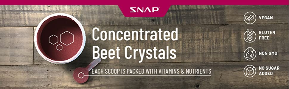 concentrated beet crystals