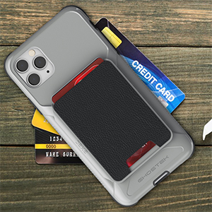 iPhone 11 Pro Max Card Holder Wallet Case Phone Cover Magnetic Heavy Duty Protection Tough Armor