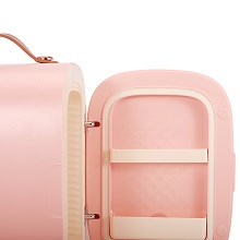 small fridge, mini fridge for skin care, skin care fridge, cosmetic fridge, makeup fridge,