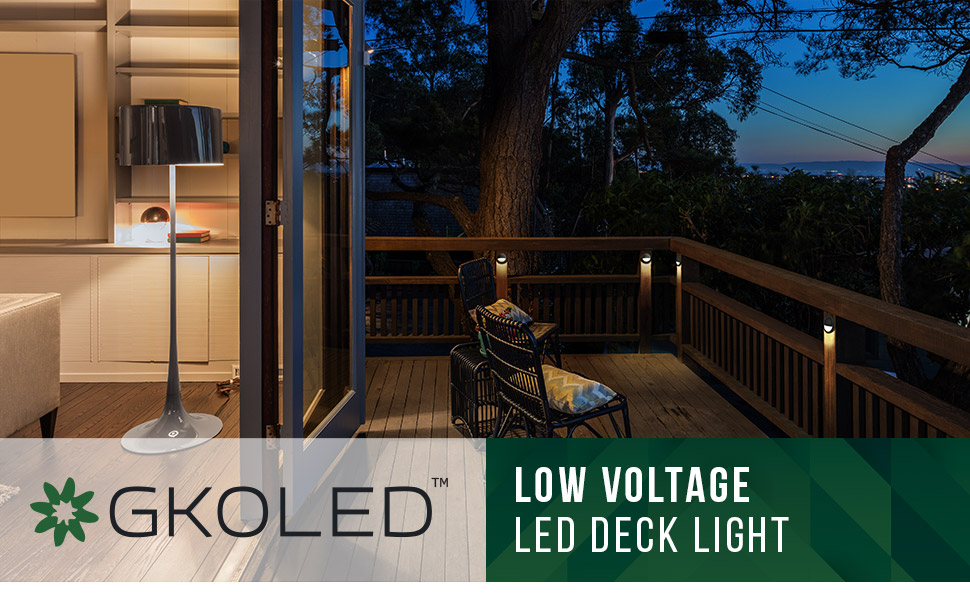 led deck light gkoled step lights outdoor rail railing lighting fixtures landscape accent lamps