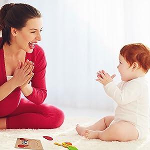 tavola bambola motore toccare montessori regalo bimba giocattoli femmina mesi