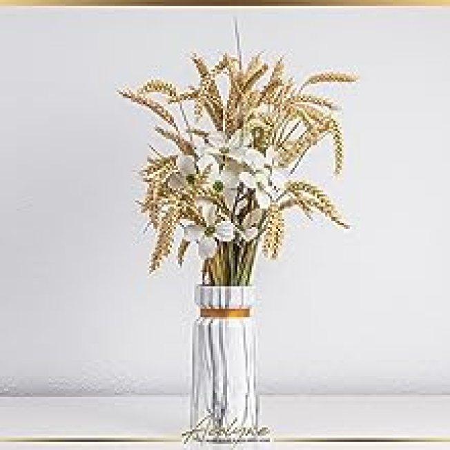 Vase mit Körner